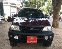Bán Daihatsu Terios 1.3 4x4 MT đời 2005, màu đỏ giá 220 triệu tại Đắk Lắk
