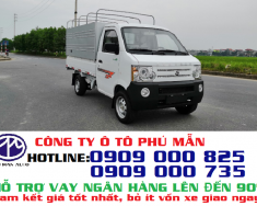 Xe tải Dongben 810kg thùng mui bạt nhập khẩu đời mới|Mua bán xe tải mới giá 166 triệu tại Tp.HCM