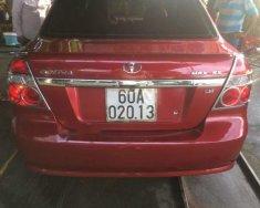 Cần bán xe Daewoo Gentra đời 2011, màu đỏ, nhập khẩu nguyên chiếc giá 235 triệu tại Đồng Nai