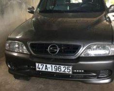 Bán xe Ssangyong Musso sản xuất 1999, màu xám, nhập khẩu giá 130 triệu tại Đắk Lắk