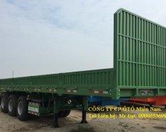 Bán phân phối Mooc Doosung sàn(thành lửng) 40 feet,3 trục,xe có sẵn, giá rẻ. giá 350 triệu tại Tp.HCM