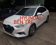 Bán Hyundai Accent năm 2018, màu trắng, xe nhập giá 545 triệu tại Bến Tre