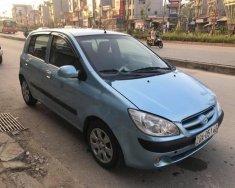 Cần bán xe Hyundai Getz đời 2009, màu xanh lam, nhập khẩu giá 168 triệu tại Hòa Bình