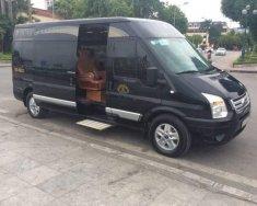 Bán Ford Transit Limousin Dcar đời 2017, màu đen giá cạnh tranh giá 999 triệu tại Hà Nội