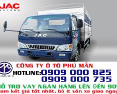 Bán xe tải Jac 2.4 tấn thùng bạt, công ty đại lý chính hãng cấp 1 giá 255 triệu tại Tp.HCM