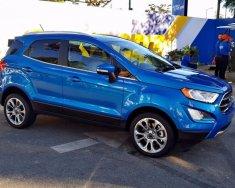 Bán ô tô Ford EcoSport Tita 1.0 Ecoboost đời 2018, màu xanh lam, đủ màu, vay 90%, thủ tục nhanh gọn giá 689 triệu tại Sơn La