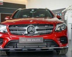 Bán Mercedes GLC 300 4Matic sản xuất năm 2018, màu đỏ giá 2 tỷ 209 tr tại Hà Nội