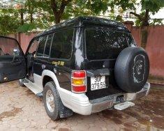 Cần bán Mitsubishi Pajero năm 2004, màu đen, giá 216tr giá 216 triệu tại Hà Nội