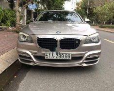 Bán BMW 7 Series 750Li năm sản xuất 2010, màu ghi vàng giá 1 tỷ 200 tr tại Tp.HCM