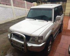 Bán xe Hyundai Galloper 2.5 đời 2003, màu trắng, xe nhập  giá 140 triệu tại Thái Nguyên