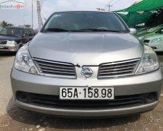 Cần bán Nissan Tiida 1.6 AT 2007, màu bạc, nhập khẩu giá cạnh tranh giá 285 triệu tại Cần Thơ