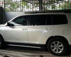 Cần bán gấp Toyota Highlander SE 2.7 năm sản xuất 2011, màu trắng  giá 1 tỷ 250 tr tại Hà Nội
