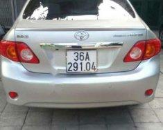 Bán Toyota Corolla altis sản xuất năm 2010, màu bạc số tự động, giá chỉ 543 triệu giá 543 triệu tại Thanh Hóa