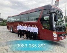 Bán xe khách Tracomeco phiên bản Universe Noble U47 chỗ màu nâu đỏ - động cơ Weichai giao ngay và luôn giá 2 tỷ 550 tr tại Hà Nội
