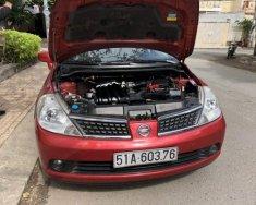 Bán ô tô Nissan Tiida đời 2008, màu đỏ, nhập khẩu nguyên chiếc giá 295 triệu tại Tp.HCM