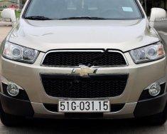 Bán Chevrolet Captiva LTZ 2.4 AT năm sản xuất 2013, màu vàng đẹp như mới, 545tr giá 545 triệu tại Tp.HCM