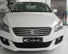 Cần bán Suzuki Ciaz 1.4 AT sản xuất 2018, màu trắng, nhập khẩu  giá 499 triệu tại Bình Dương