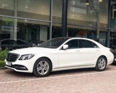 Cần bán Mercedes S450L 2018 chạy 3.000km, màu trắng giá tốt giá 4 tỷ 159 tr tại Hà Nội