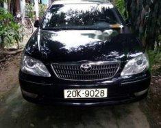 Cần bán lại xe Toyota Camry sản xuất năm 2006, màu đen chính chủ, 455tr giá 455 triệu tại Thái Nguyên