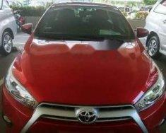 Bán Toyota Yaris năm sản xuất 2017, màu đỏ, nhập khẩu chính chủ   giá 650 triệu tại Bình Dương