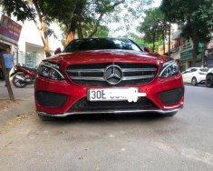 Cần bán Mersedes C300 AMG màu đỏ, đời 2016, giá tốt giá 1 tỷ 639 tr tại Hà Nội