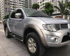 Cần bán Mitsubishi Triton GLS sản xuất năm 2010, màu bạc giá 375 triệu tại Hà Nội