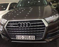 Cần bán gấp Audi Q7 2016, màu nâu, nhập khẩu nguyên chiếc giá 3 tỷ 230 tr tại Tp.HCM