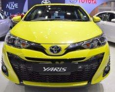 Bán Toyota Yaris năm sản xuất 2018, màu vàng, nhập khẩu Thái Lan giá 650 triệu tại Tp.HCM