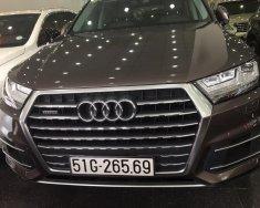 Bán Audi Q7 2016 bản đủ, có cửa hít, xe đẹp biển số TP, số đẹp, cam kết chất lượng bao kiểm tra hãng giá 3 tỷ 245 tr tại Tp.HCM