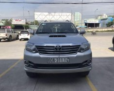 Bán Toyota Fortuner 2.5G đời 2016, màu bạc số sàn giá 879 triệu tại Đồng Nai