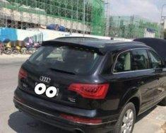 Bán ô tô Audi Q7 năm sản xuất 2012, màu đen, nhập khẩu giá 1 tỷ 700 tr tại Hà Nội