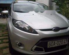 Cần bán gấp Ford Fiesta AT đời 2011, màu bạc giá 365 triệu tại Đồng Nai