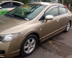 Cần bán lại xe Honda Civic năm sản xuất 2010, màu vàng giá 460 triệu tại Tp.HCM
