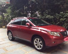 Bán Lexus RX 350 AWD đời 2010, màu đỏ, nhập khẩu nguyên chiếc giá 1 tỷ 800 tr tại Hà Nội