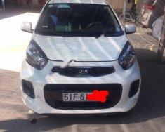 Cần bán lại xe Kia Morning đời 2016, màu trắng số sàn giá 235 triệu tại Tp.HCM