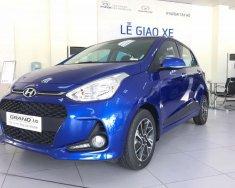 Hyundai Grand i10 số tự động màu xanh giao ngay trước tết, giá KM kèm quà tặng hấp dẫn, hỗ trợ vay lãi suất ưu đãi. LH; 0903175312 giá 405 triệu tại Tp.HCM