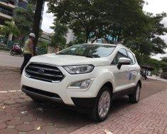 Cần bán xe Ford EcoSport 1.5l Titanium đời 2018, màu trắng giá sock T12, hỗ trợ giao toàn quốc giá 605 triệu tại Hà Nội