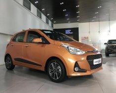 Hyundai Grand i10 số sàn màu cam xe giao ngay trước tết, giá KM kèm quà tặng có giá trị, hỗ trợ vay LS ưu đãi. LH: 0903175312 giá 370 triệu tại Tp.HCM