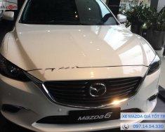 Cần bán Mazda 6 2.5 2018, màu trắng giá 1 tỷ 19 tr tại Hà Nội