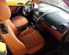 Xe Volkswagen New Beetle mui trần, đăng ký lần đầu 2003, màu vàng xe nhập giá 399 triệu tại Khánh Hòa