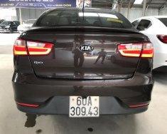 Bán Kia Rio Sedan 1.4AT, màu nâu titan, số tự động nhập Hàn Quốc 2016, biển tỉnh lăn bánh 30.000km giá 478 triệu tại Tp.HCM