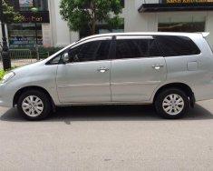 Cần bán xe Toyota Innova 2010, số sàn màu bạc, J lên G đẹp long lanh giá 345 triệu tại Tp.HCM