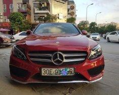 Cần bán xe Mercedes C300 AMG đời 2016 màu đỏ, biển Hà Nội giá 1 tỷ 660 tr tại Hà Nội