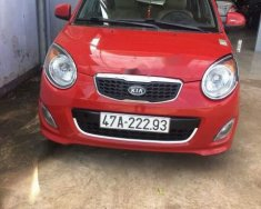 Bán Kia Morning sản xuất 2012, màu đỏ giá 185 triệu tại Đắk Lắk