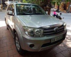 Bán xe Toyota Fortuner đời 2010, màu bạc số sàn, 620 triệu giá 620 triệu tại Hà Nội