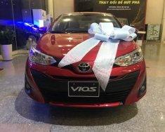 Cần bán Toyota Vios E MT 2019, màu đỏ, tặng bảo hiểm thân xe giá 531 triệu tại Tp.HCM