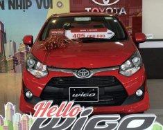 Toyota Thanh Xuân bán xe Toyota Wigo 2018, màu đỏ, nhập khẩu nguyên chiếc giá 405 triệu tại Hà Nội