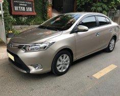 Cần bán xe Toyota Vios 2018 số tự động, màu vàng cát giá 522 triệu tại Tp.HCM