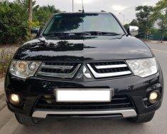 Cần bán Mitsubishi Pajero Sport 2.5 MT đời 2014, màu đen xe cực đẹp giá 628 triệu tại Hà Nội