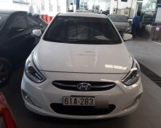 Gia đình cần bán Hyundai Accent đời 2016, số sàn, đã chạy 53.000 km, không đâm đụng, thủy kích giá 450 triệu tại Đồng Nai